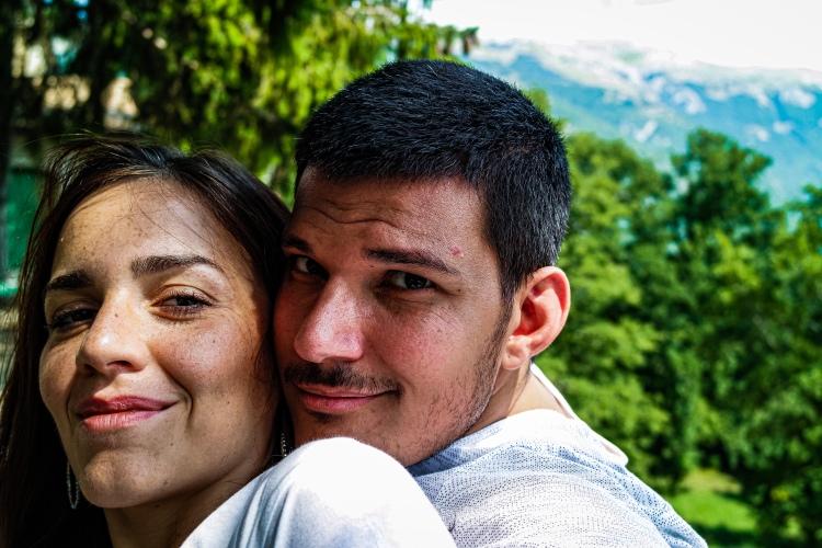 Uova, bacon e fagioli - Gaetano e Teresa sul belvedere di Civitella Alfedena (AQ) - All rights reserved