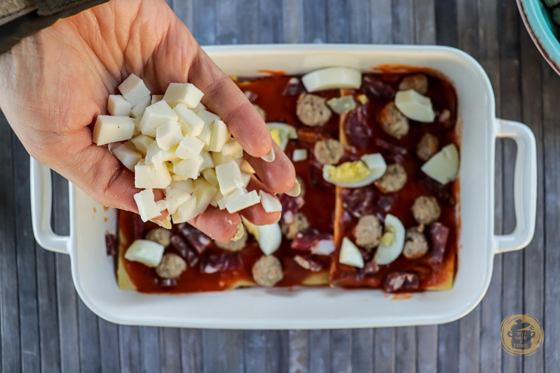 Uova, bacon e fagioli - Lasagna napoletana - All rights reserved